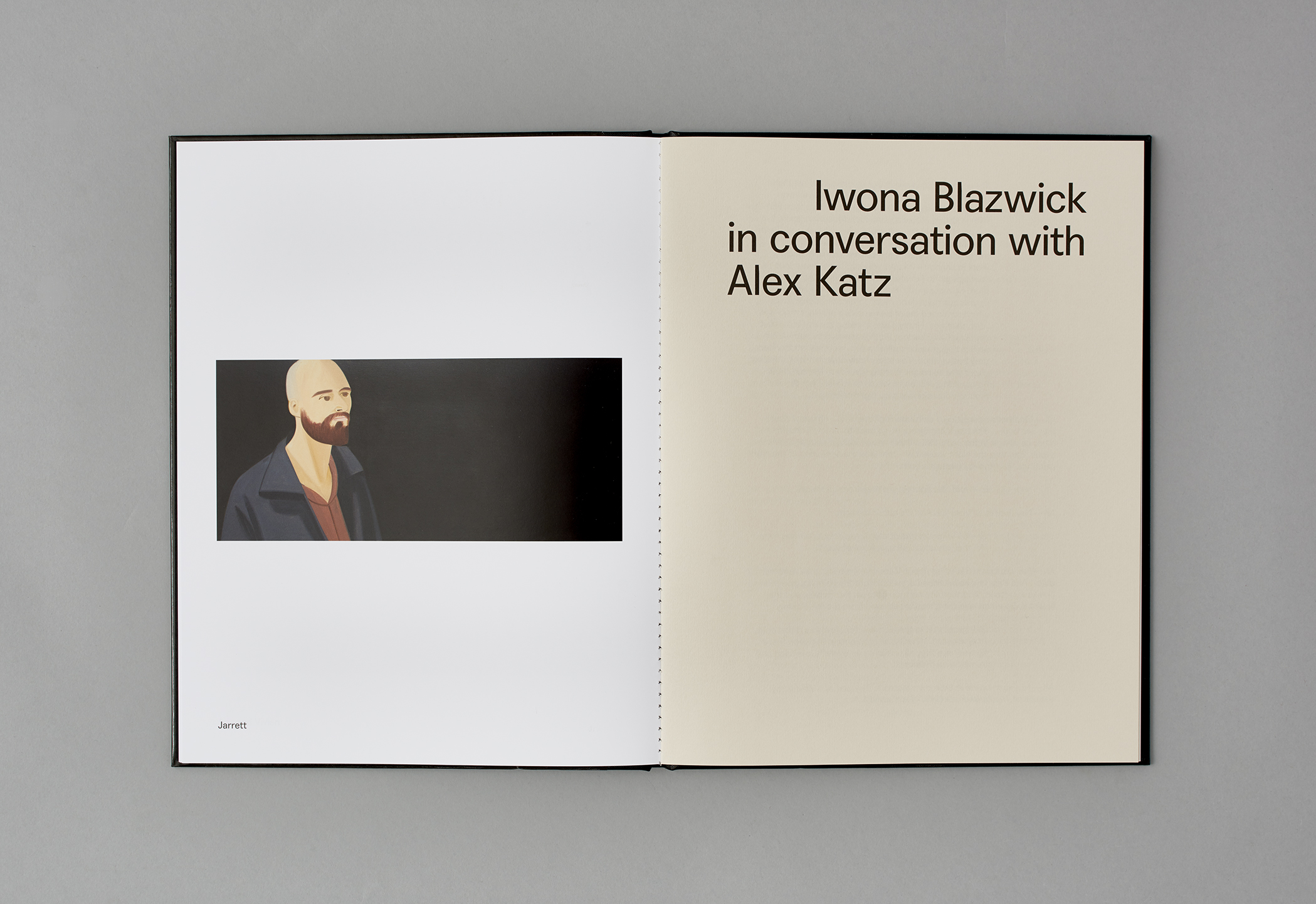 Alex Katz: Black Paintings