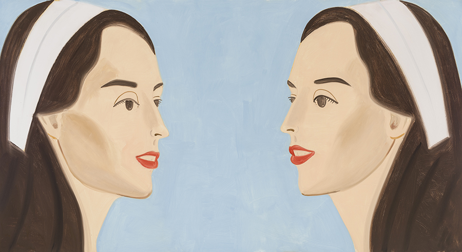 Alex Katz: West Broadway and Spring