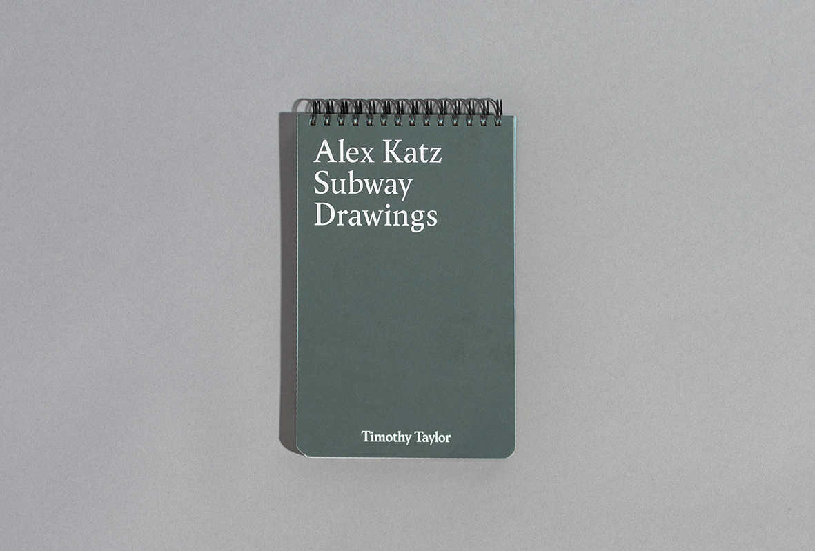 Alex Katz: Subway Drawings