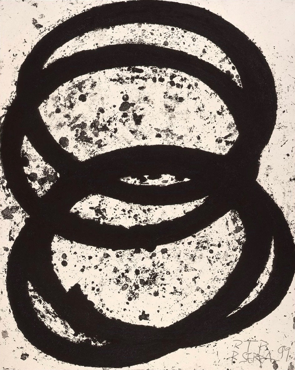 Richard Serra: Torqued Ellipses and Rounds, 9 New Etchings