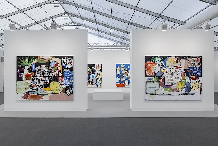 Eddie Martinez at Frieze London