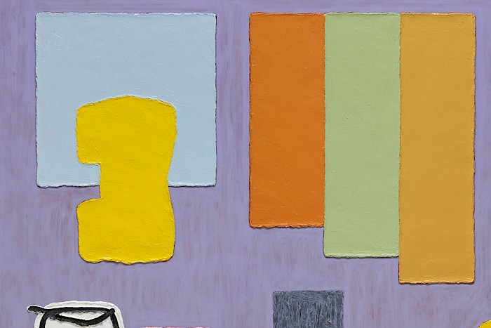 Jonathan Lasker at Frieze London